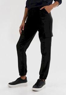 Czarne Spodnie Blackdoom