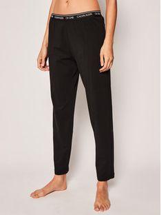 Calvin Klein Underwear Spodnie piżamowe Lounge 000QS6434E Czarny