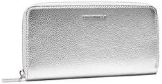 Duży Portfel Damski COCCINELLE - HW5 Metallic Soft E2 HW5 11 04 01 Silver Y69