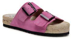 Manebi Espadryle Nordic Sandals M 3.4 R0 Różowy