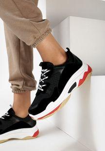 Czarne Sneakersy Talbot