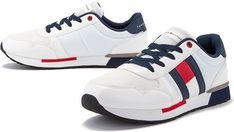 Buty sportowe damskie Tommy Hilfiger płaskie sznurowane