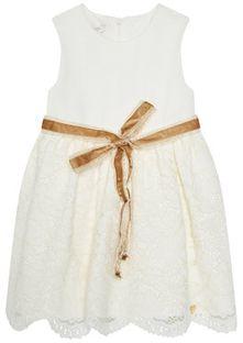 Liu Jo Kids Sukienka elegancka HF0085 J5473 Beżowy Regular Fit