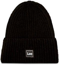 Czapka LEE - Rib Beanie LH033901 Black