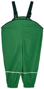 Playshoes Spodnie przeciwdeszczowe 405424 M Zielony Regular Fit