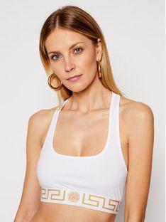 Versace Biustonosz top Donna AUD01039 Biały