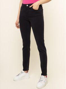 Emporio Armani Spodnie materiałowe 3H2J20 2N74Z 0922 Granatowy Skinny Fit