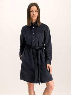 Hugo Sukienka koszulowa 50416868 Granatowy Regular Fit