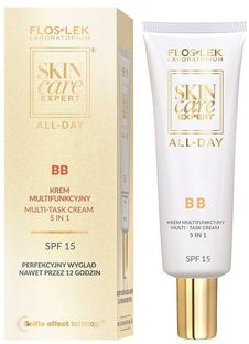 FlosLek Laboratorium Skin Care Expert All-Day, BB krem multifunkcyjny, 5w1, SPF 15, 50 ml