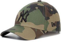 Czapka z daszkiem NEW ERA - League Essential 9F 11357008  Kolorowy Zielony