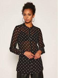 Guess Koszula Clouis W0YH96 W70Q0 Czarny Regular Fit