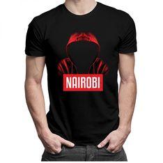 Nairobi - męska lub damska koszulka z nadrukiem
