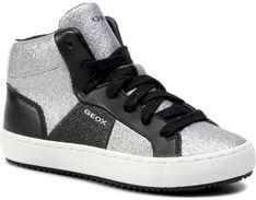 Sneakersy GEOX - J Kalispera G. P J944GP 0CD54 C1007 S  Silver