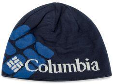 Czapka COLUMBIA - Heat Beanie 1472301 Collegiate Navy Big Gem 470