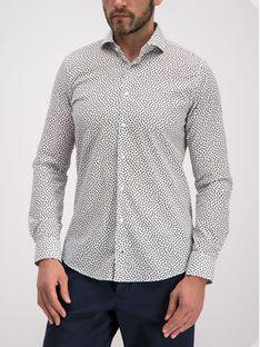 Joop! Koszula 30014337 Biały Slim Fit