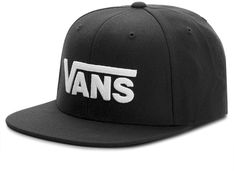 Czapka z daszkiem VANS - Drop V II Snapb VN0A36ORY28  Black/White