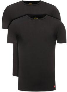 Polo Ralph Lauren Komplet 2 t-shirtów 714621944 Czarny Slim Fit