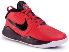 Buty NIKE - Team Hustle D 9 AQ4224 600 University Red/Black/White