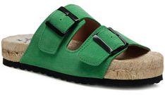 Manebi Espadryle Nordic Sandal M 3.7 R0 Zielony
