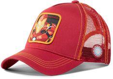 Czapka z daszkiem CAPSLAB - Marvel Iron Man CL/MAR/1/IRO1 Red