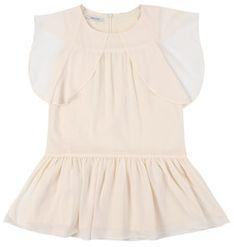 Primigi Sukienka codzienna Feel Chic Today 45112571 Beżowy Regular Fit