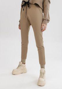 Jasnobeżowe Spodnie Peilophi