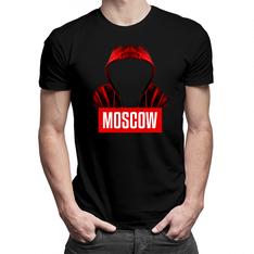 Moscow - męska lub damska koszulka z nadrukiem