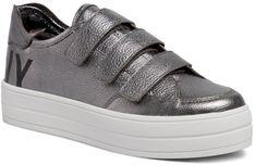 Sneakersy DKNY - Savi K3921876 Pwtr/Blk