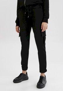 Czarne Spodnie Phirelia