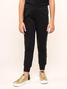 TwinSet Spodnie dresowe 192GJ2222 M Czarny Regular Fit