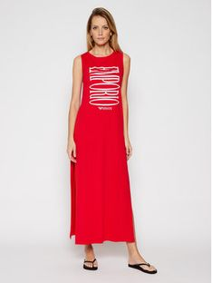 Emporio Armani Sukienka plażowa EMPORIO ARMANI 262635 1P340 33974 Czerwony Regular Fit