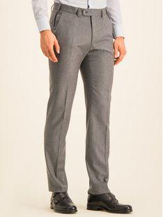 Digel Spodnie materiałowe 1291209 Szary Regular Fit