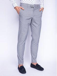Strellson Spodnie materiałowe 11 Sax-W 30019343 Szary Slim Fit