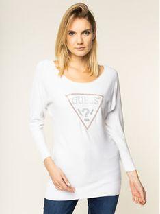 Guess Sweter Nadine W01R94 Z2760 Biały Regular Fit