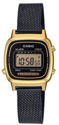 Casio Zegarek Vintage LA670WEMB-1EF Złoty