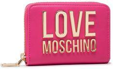 Duży Portfel Damski LOVE MOSCHINO - JC5613PP1CLJ060A Fuxia