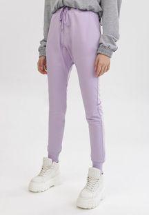Jasnofioletowe Spodnie Peilophi