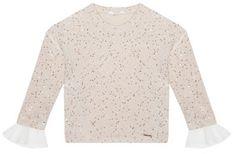 Liu Jo Kids Sweter KF0084 MA96I Beżowy Regular Fit