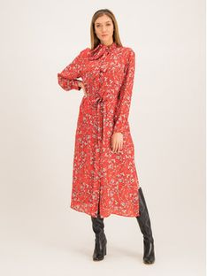 Escada Sport Sukienka koszulowa Dumia 5030977 Czerwony Regular Fit