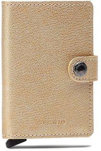 Mały Portfel Damski SECRID - Miniwallet MAq Antique Gold