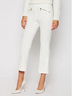 iBlues Spodnie materiałowe Amalia 77860307 Biały Regular Fit