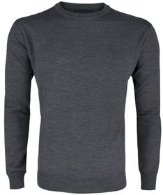 Sweter Tru Trussardi Dark Grey