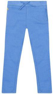 Polo Ralph Lauren Spodnie dresowe Fleece Leggi 312698768 Niebieski Regular Fit