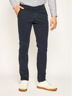 Baldessarini Spodnie materiałowe Justo 16828/2206/790 Granatowy Regular Fit