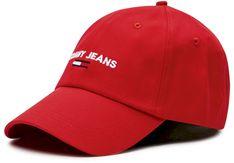 Czapka z daszkiem TOMMY JEANS - Sport Cap AW0AW08574 XNL