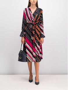 Laurèl Sukienka codzienna 12031 Kolorowy Regular Fit