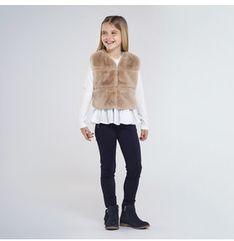 Mayoral Spodnie materiałowe 7534 Granatowy Slim Fit