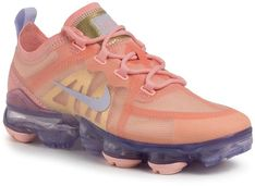 Buty NIKE - Air Vapormax 2019 AR6632 603 Bleached Coral/Amethyst Tint