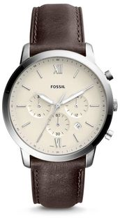 Zegarek FOSSIL - Neutra Chrono FS5380  Brown/Silver