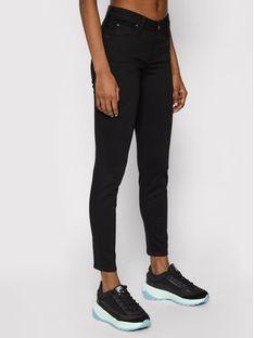 Lee Jeansy Skinny Fit Scarlett L526FS47 Czarny Skinny Fit